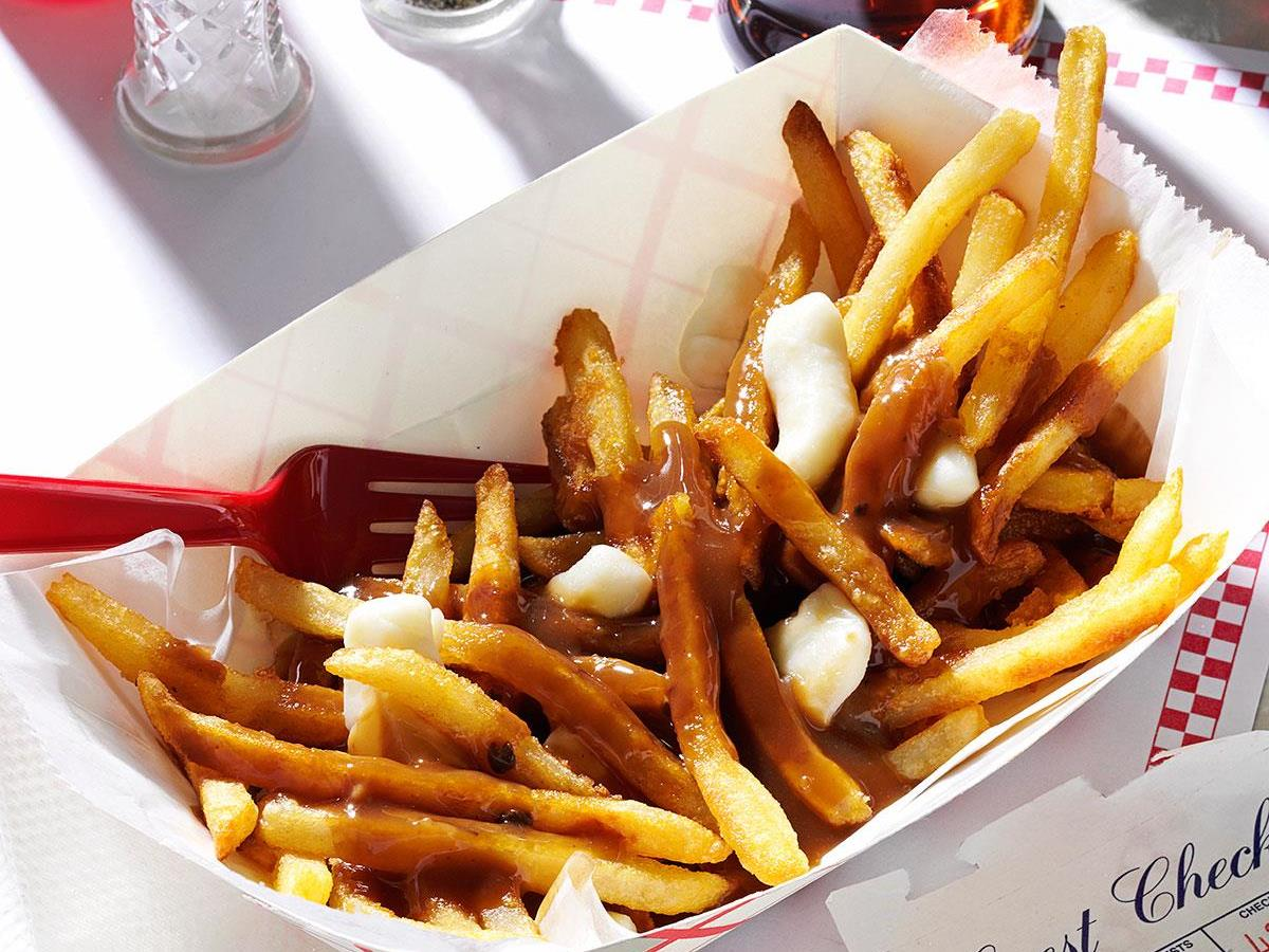 pictures How to Make Poutine