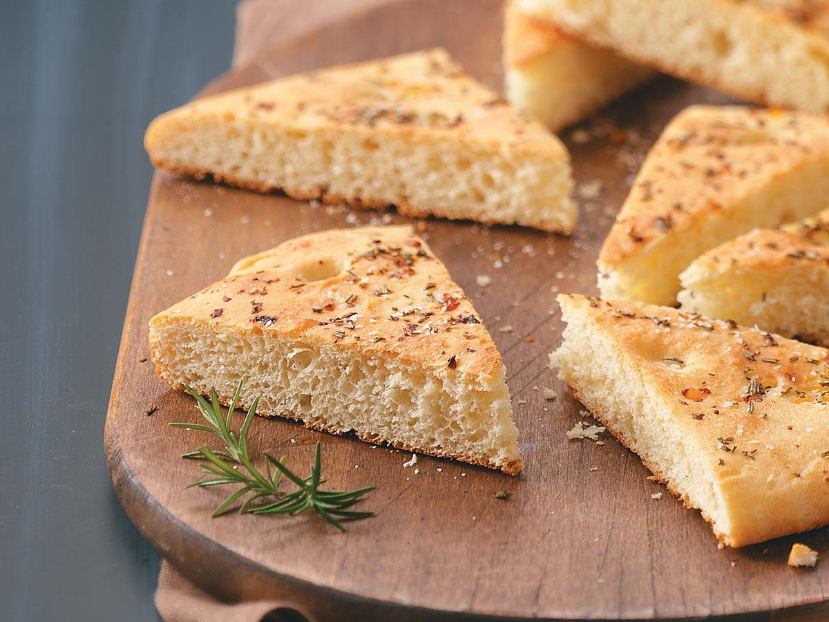 Rosemary Garlic Focaccia Bread Recipe How To Make It Taste Of Home