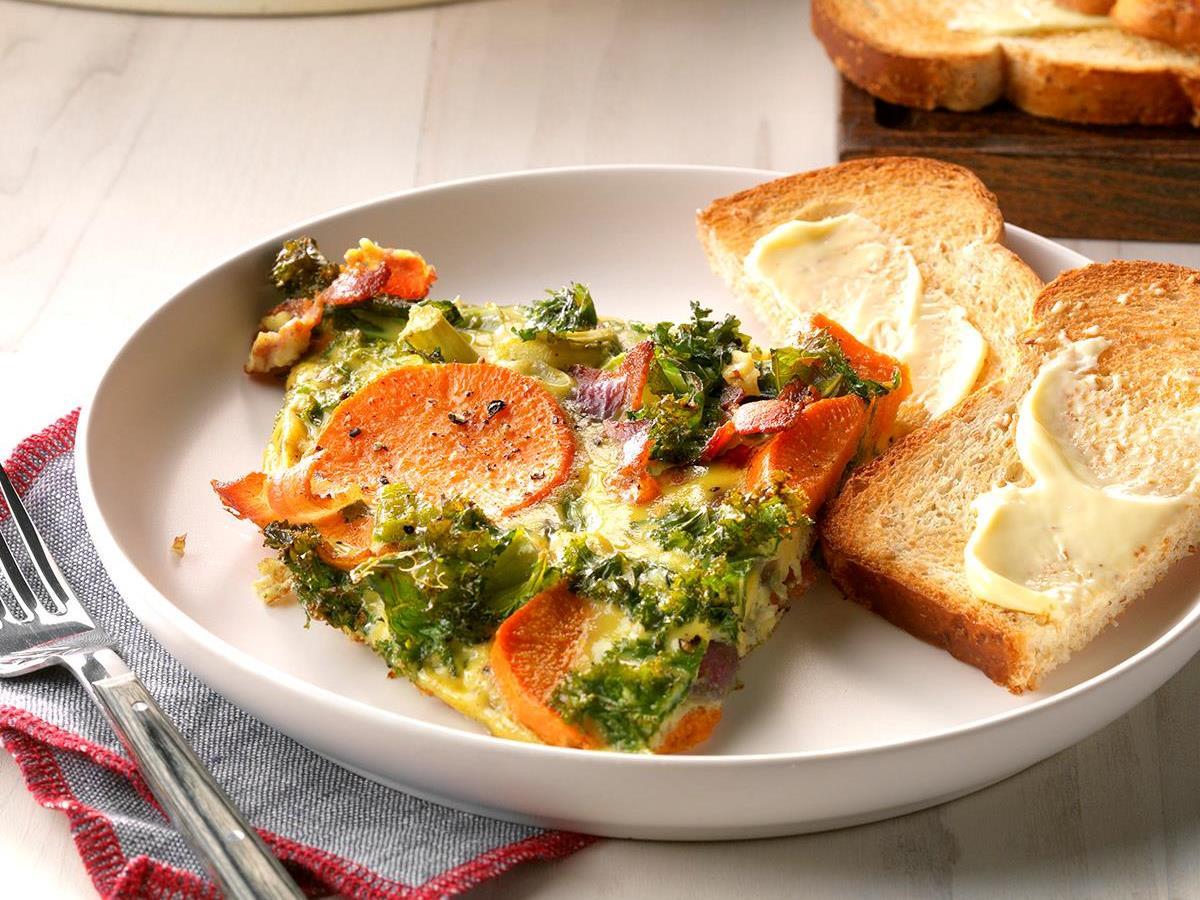 Rustic Vegetable Frittata