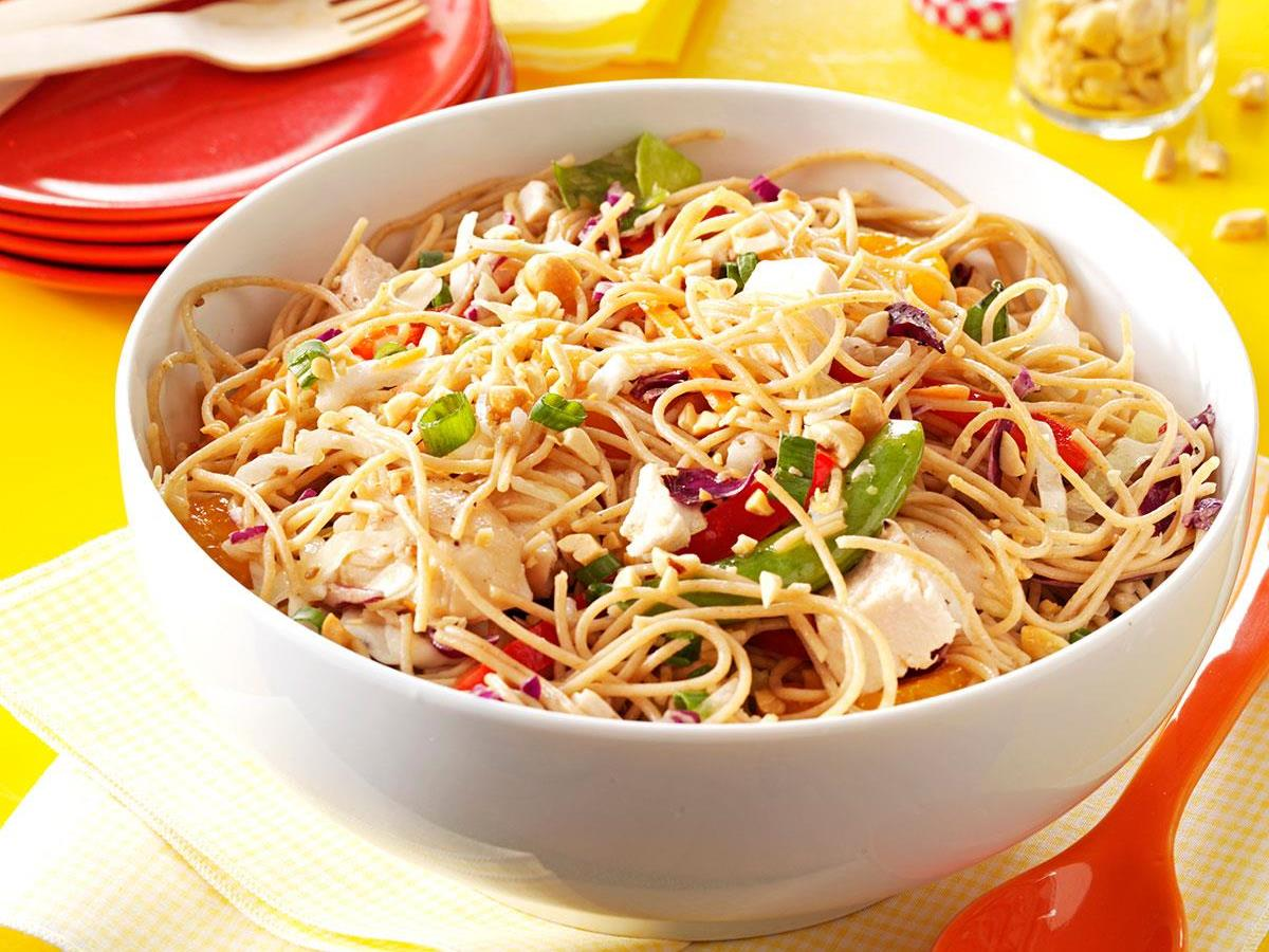 Sesame Chicken Noodle Salad Recipe How To Make It Taste Of Home