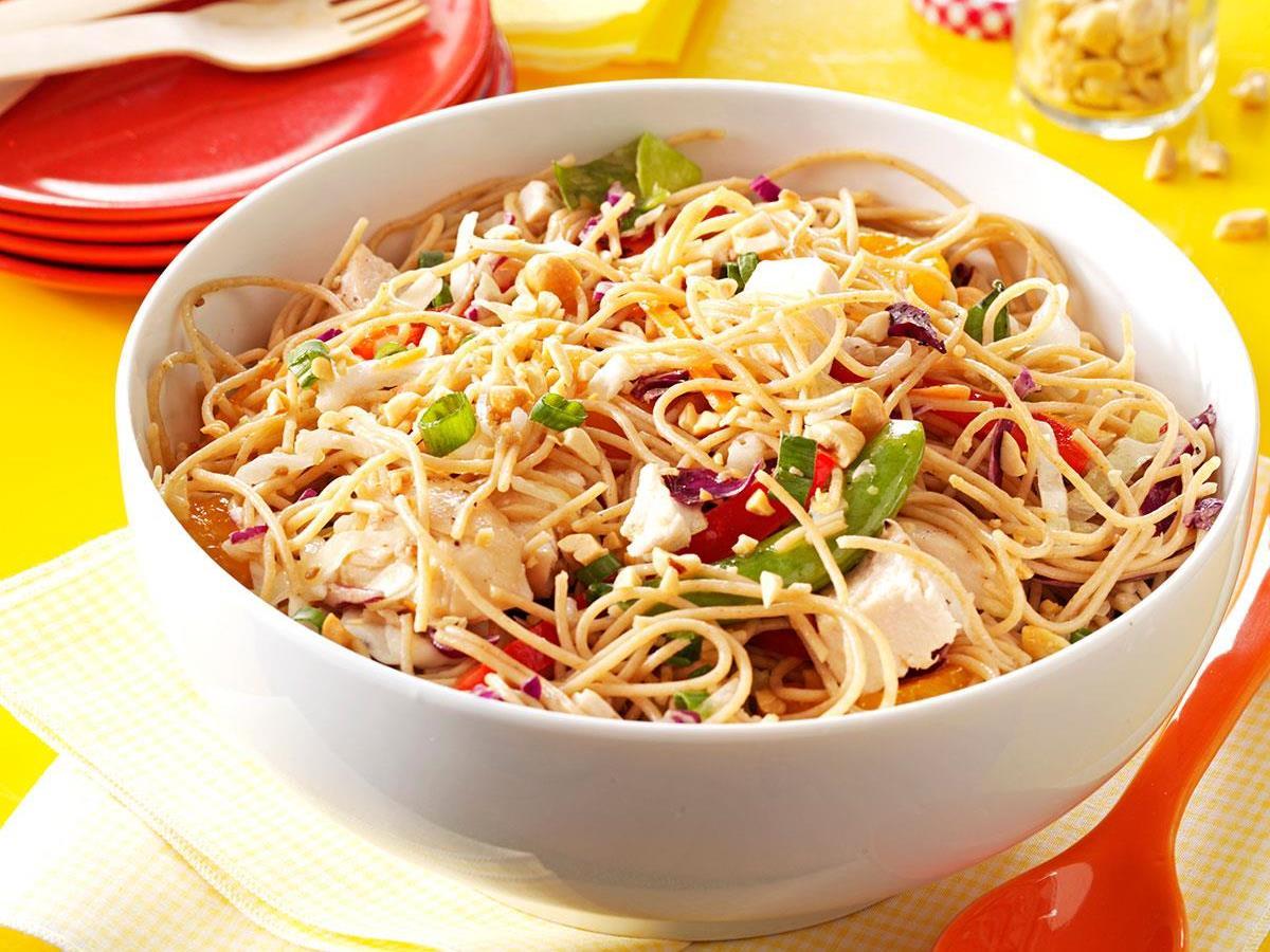 Sesame Chicken Noodle Salad Recipe How To Make It Taste Of Home