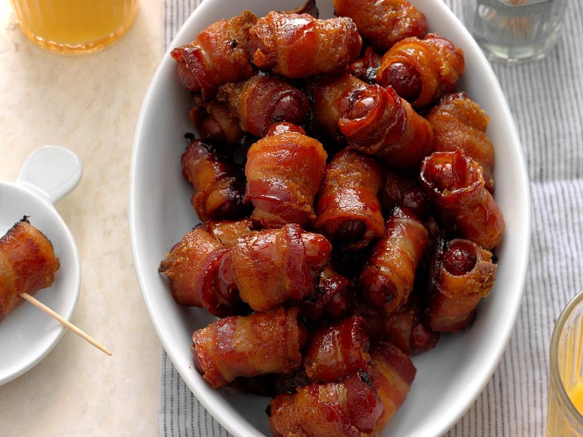 Smoky Bacon Wraps