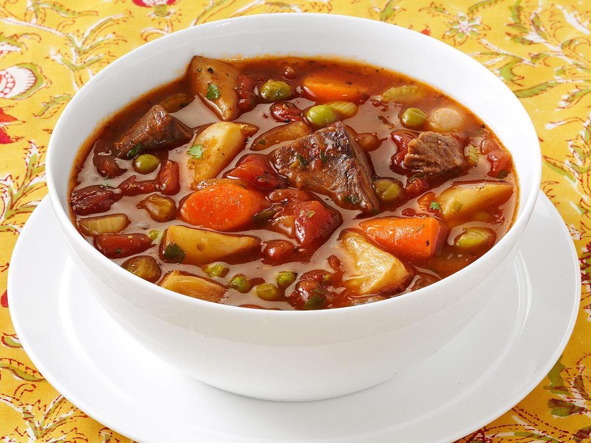 Stovetop Beef Stew Recipe   Taste of Home