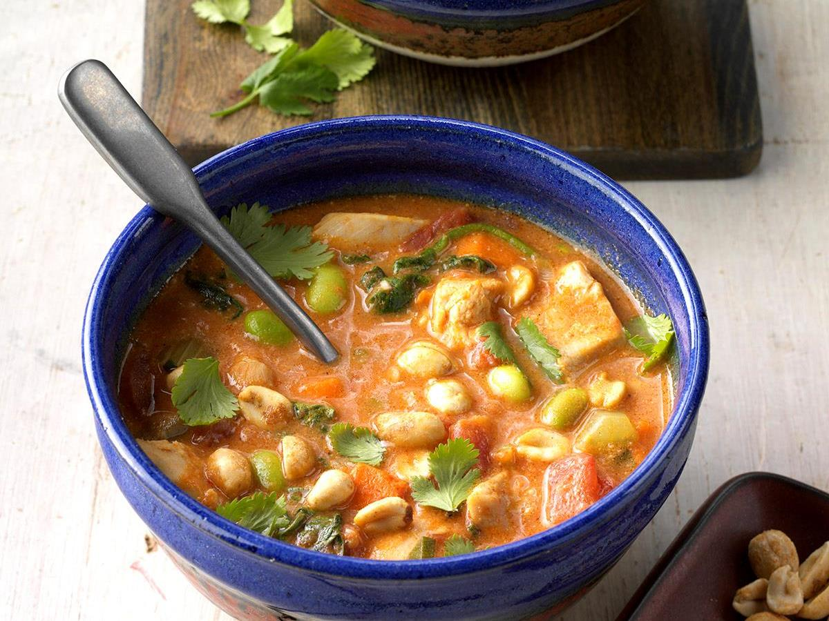 Thai-Style Chicken Chili