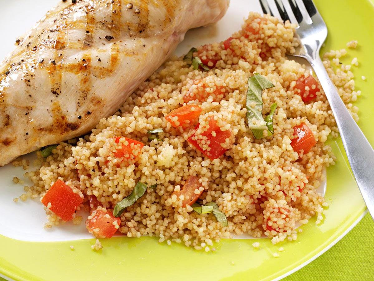 Coucous Salad Tomato basil couscous salad recipe taste of home sisterspd