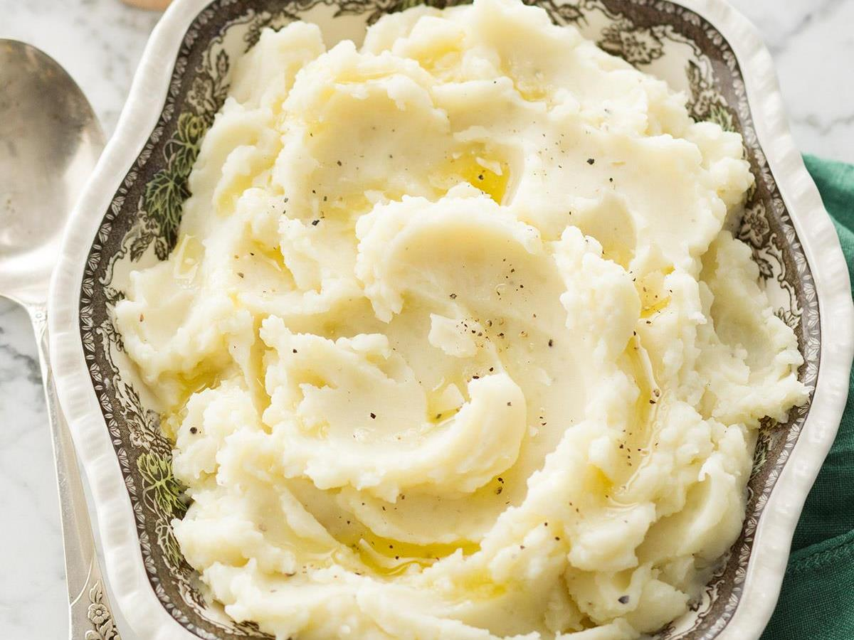 Traditional Mashed Potatoes Recipe Taste Of Home