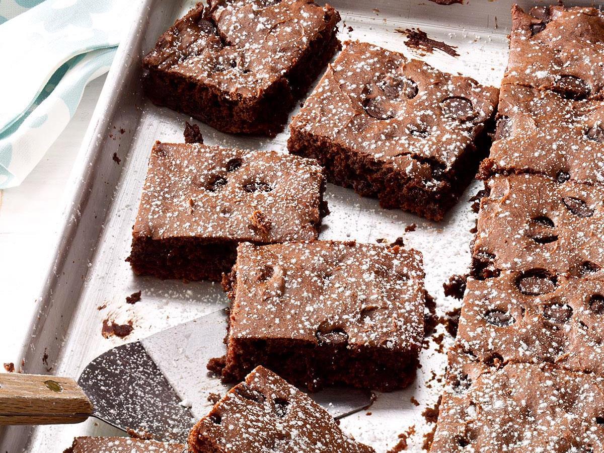 Triple Fudge Brownies Recipe How To Make It Taste Of Home