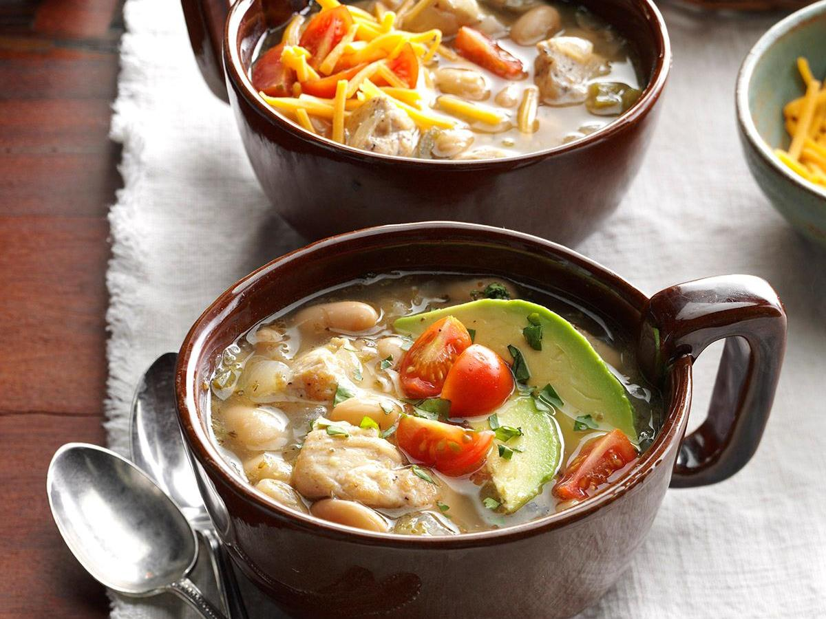 White Bean Chicken Chili Recipe How To Make It Taste Of Home