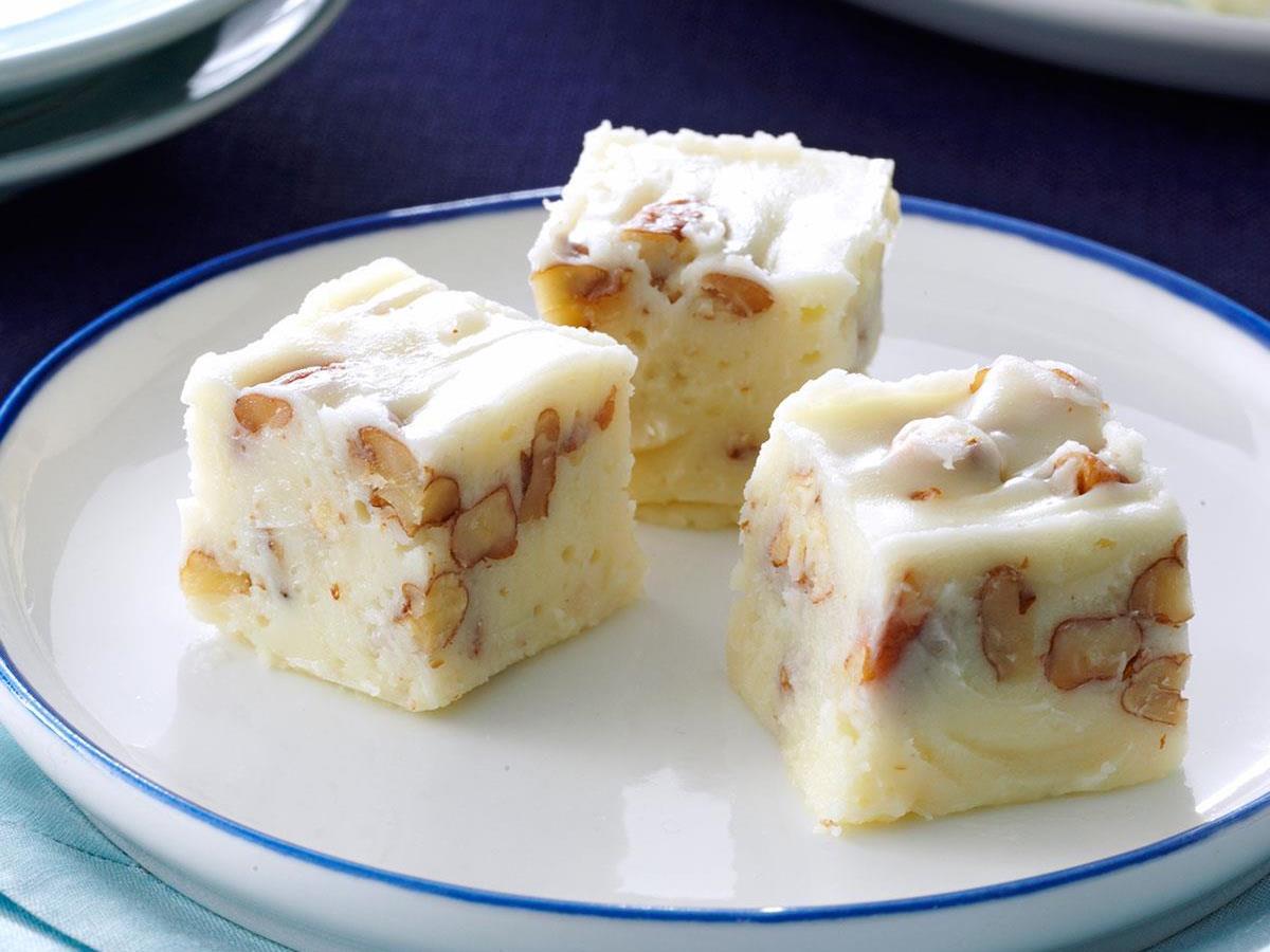 White Pecan Fudge