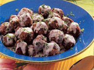 Meatballs With Cream Sauce Recipe Taste Of Home