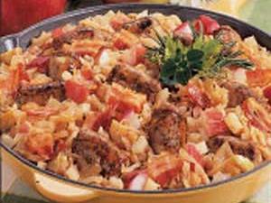 Bavarian Bratwurst Supper