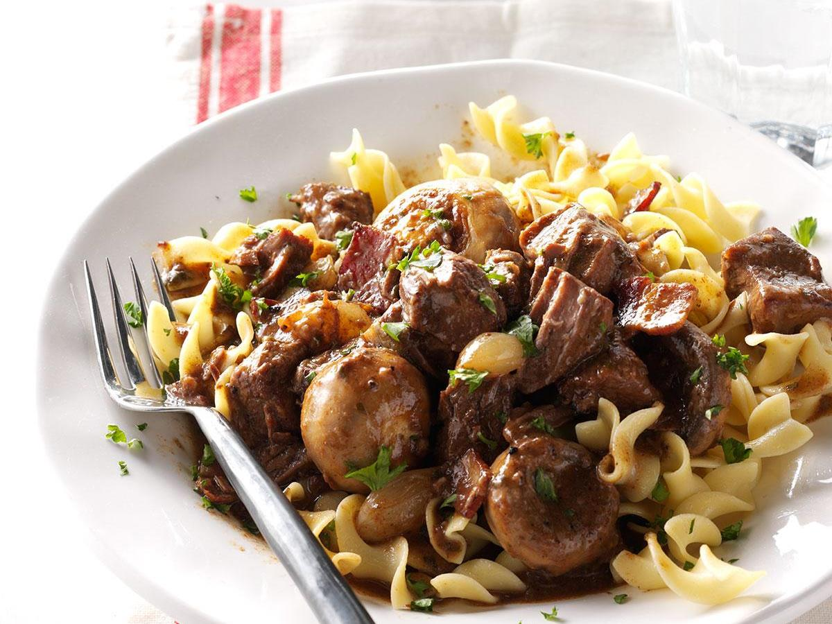 Holiday Beef Bourguignon