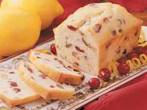 Lemon-Cranberry Mini Loaves