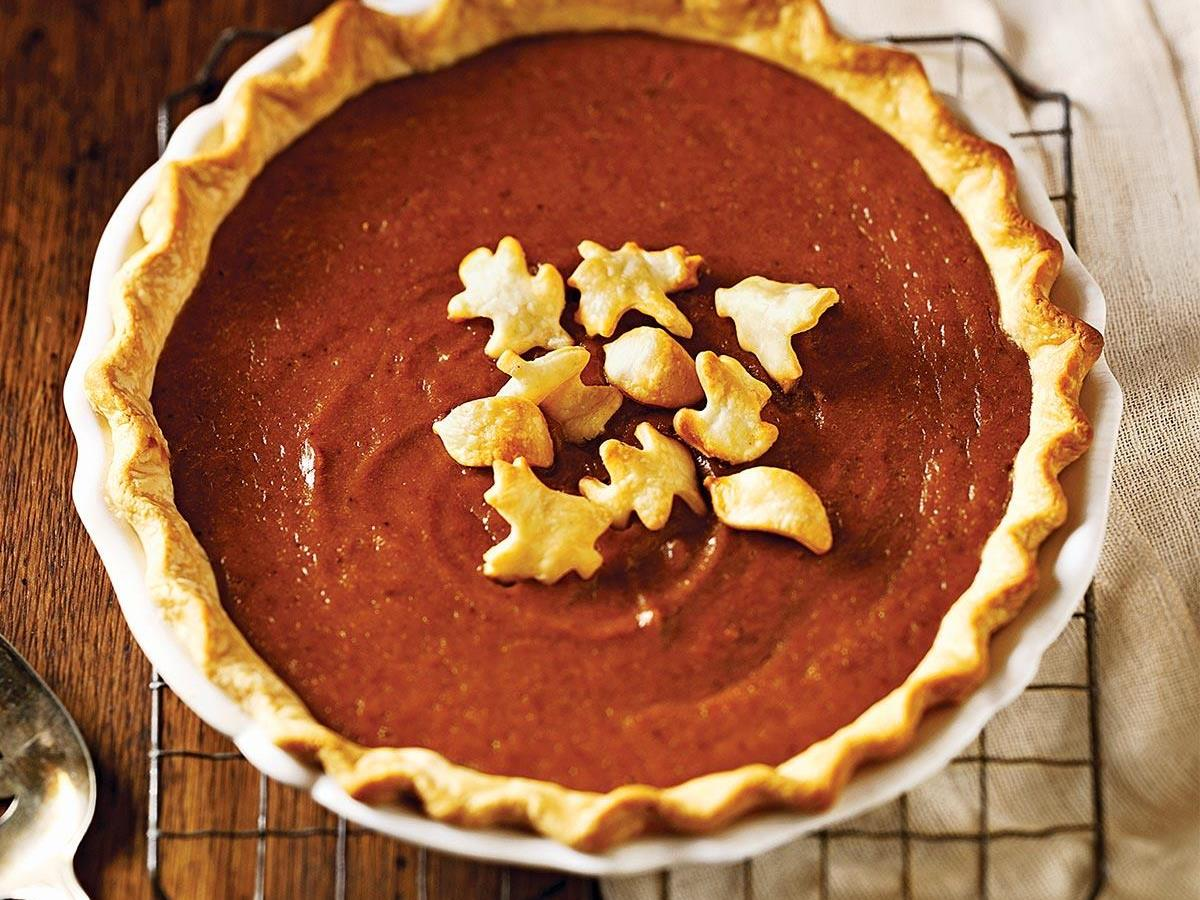 Fresh Pumpkin Pie Recipe | Taste of Home