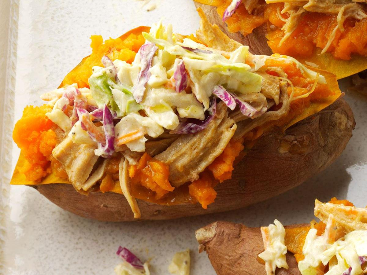 Southern Loaded Sweet Potatoes