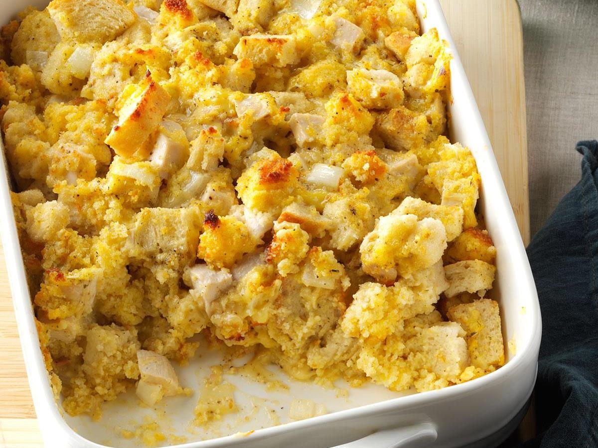 Cornbread Chicken Bake