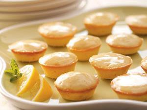 Moist Lemon Tea Cakes