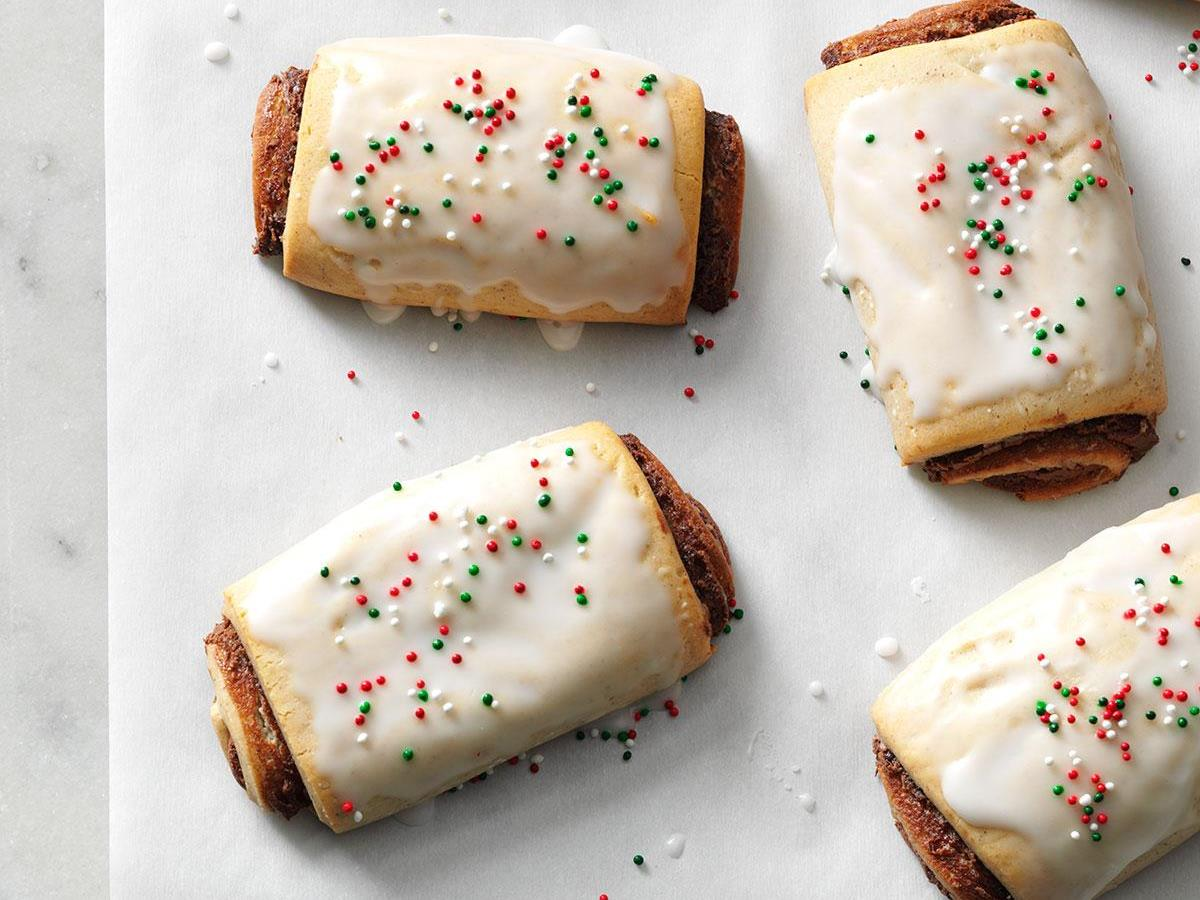 Gingerbread Yule Logs