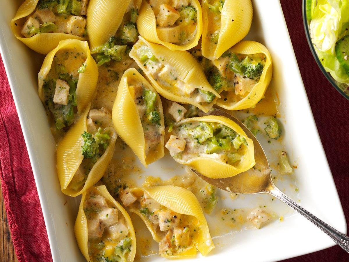 Chicken Broccoli Shells