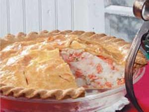 New England Salmon Pie