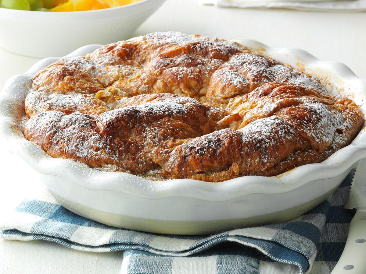 Croissant Baked French Toast