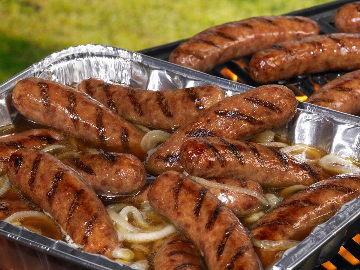 Johnsonville Brat Hot Tub Recipe | Taste of Home