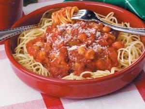 Vegetarian Spaghetti