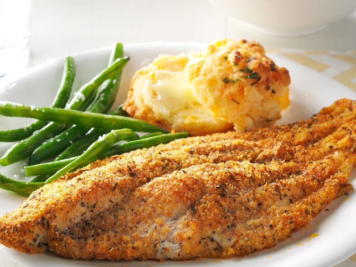 Cajun Baked Catfish Recipe | Taste of Home