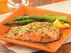Grilled Orange Salmon