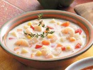 Simple Shrimp Chowder