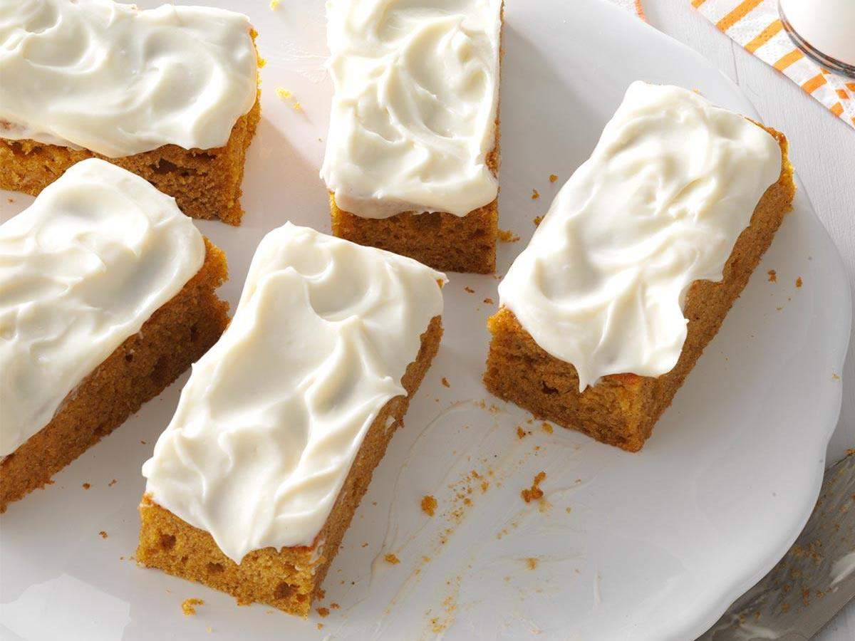 Pumpkin Bars