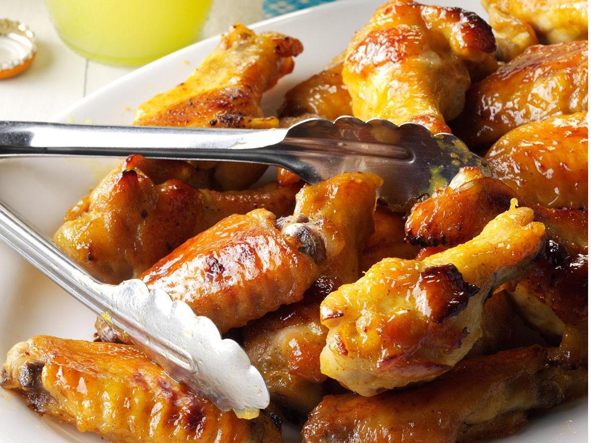 Honey Mustard Chicken Wings Recipe How To Make It Taste Of Home