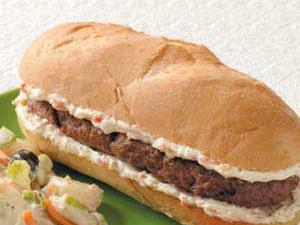 Hamburger Hoagies