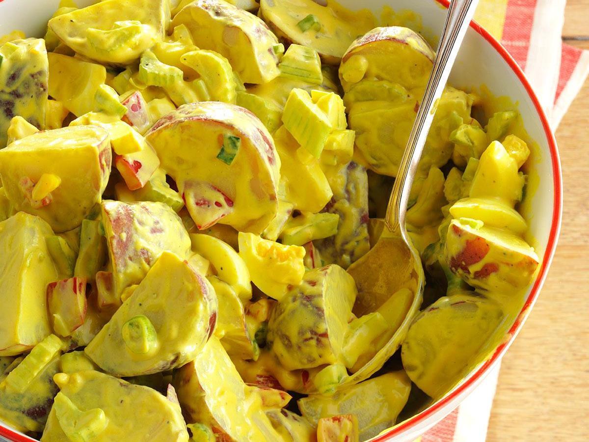Easy Potato Salad Recipe Mustard