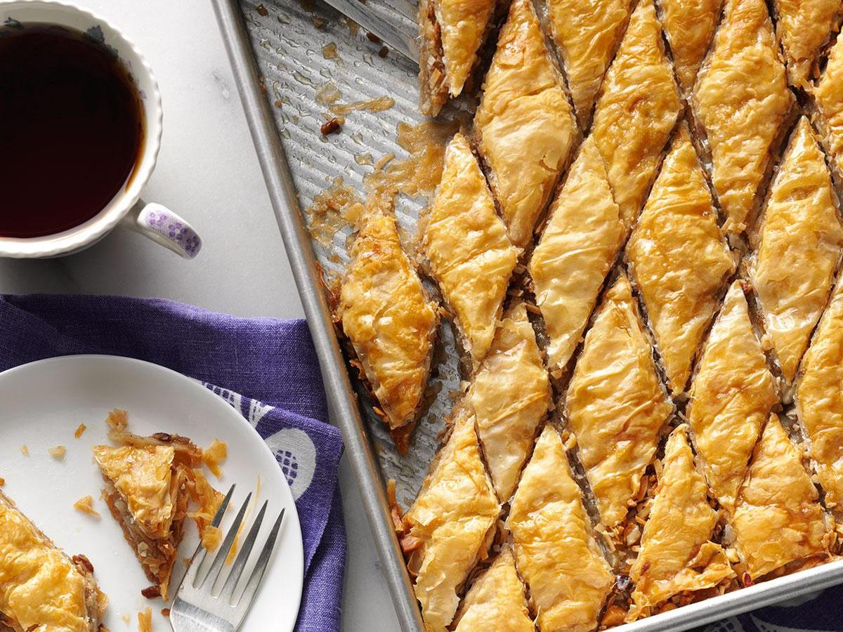 Double Nut Baklava