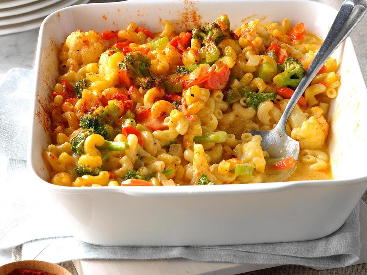 Veggie Macaroni Cheese Recipe Taste Of Home