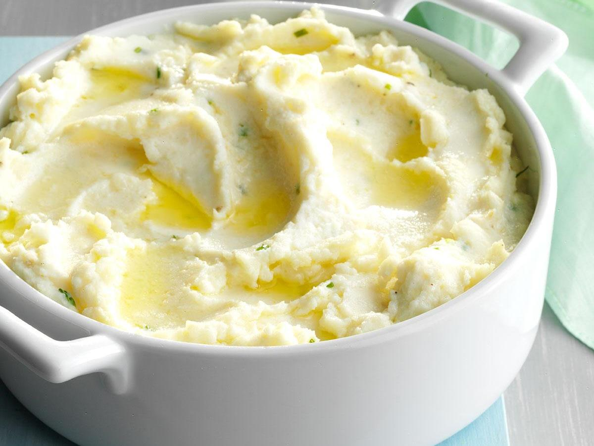 Deluxe Mashed Potatoes