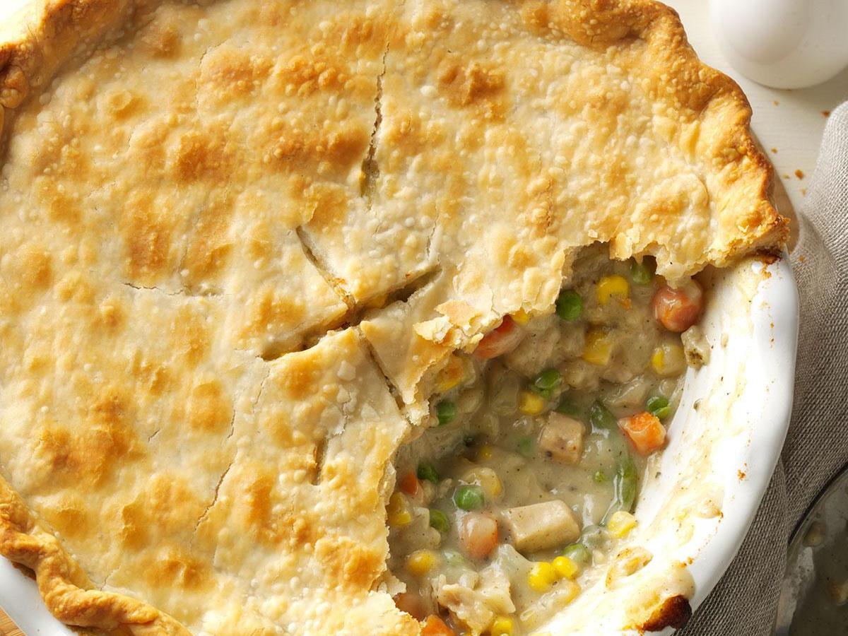 Homemade Chicken Potpie