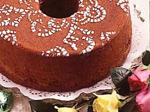 Basic Chocolate Pound Cake