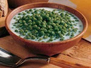 Creamed Sweet Peas