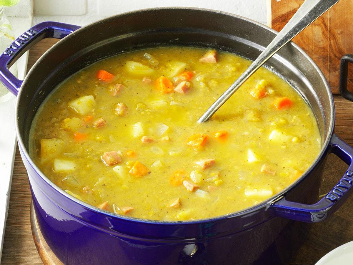 Split Pea Soup with Ham