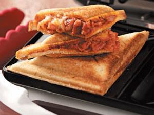 Pepperoni Pizza Grilled Sandwiches
