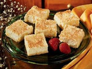 Pineapple Cheesecake Squares