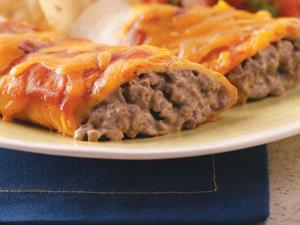 Creamy Beef Enchiladas Recipe How To Make It Taste Of Home