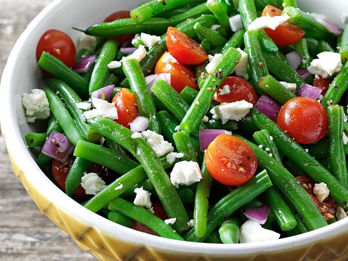 Delica Green Bean Salad Recipe