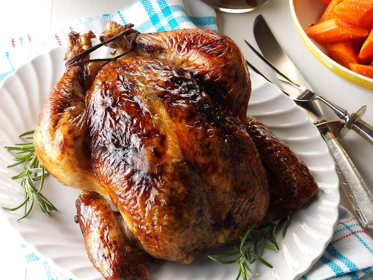 Balsamic Roast Chicken Recipe How To Make It Taste Of Home