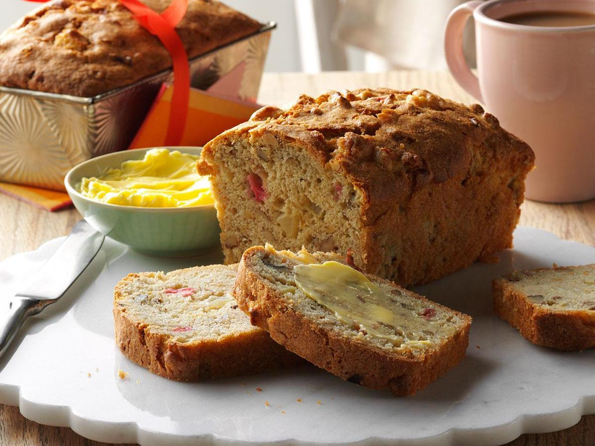 Apple-Rhubarb Bread
