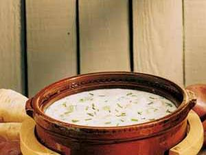 Sour Cream Potato Soup