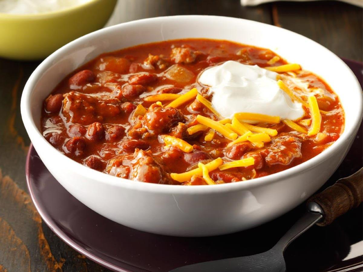 Quick Pork Chili