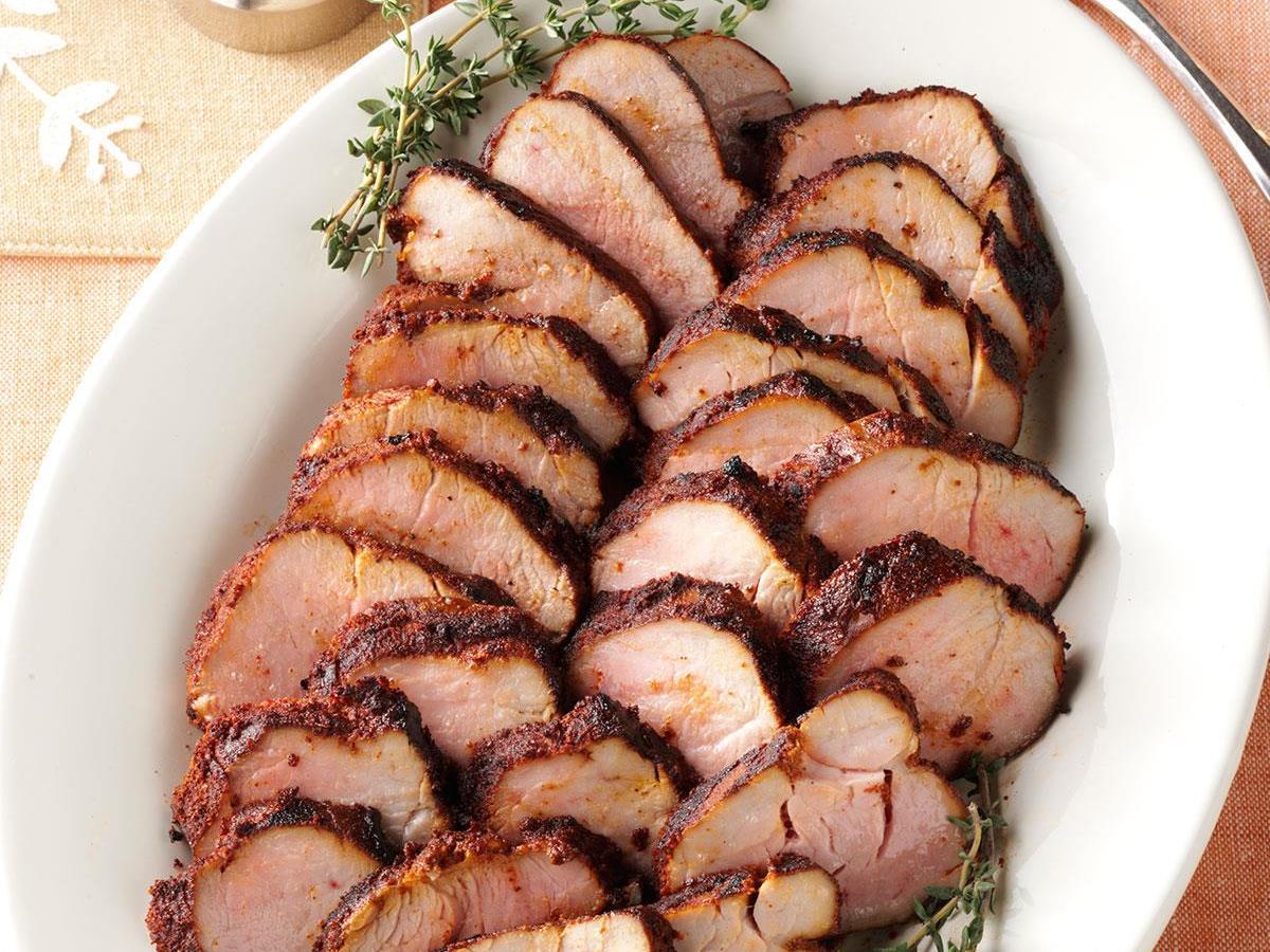 Spicy Pork Tenderloin